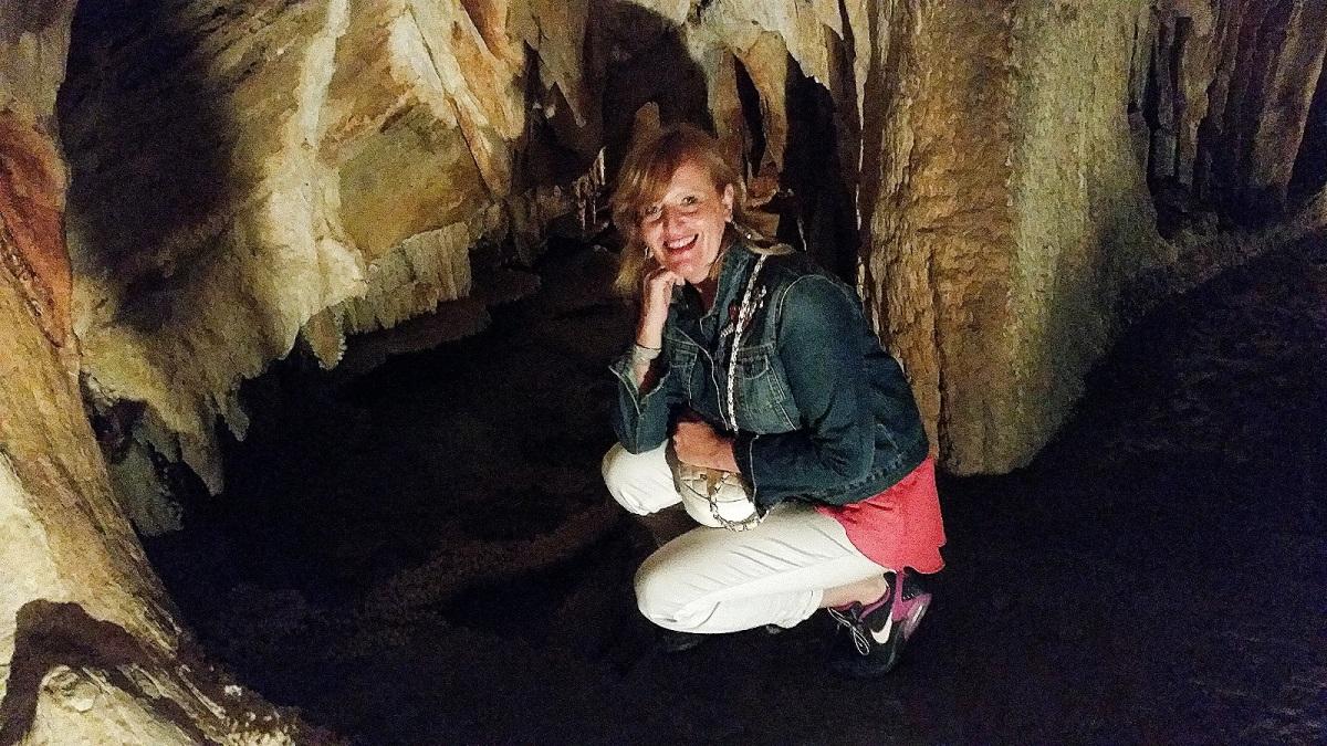 Un po' di fresco alle Grotte diToirano😉🏔